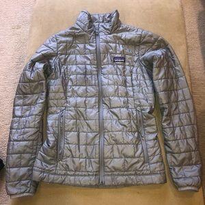 PRICE DROP! Grey Patagonia Nano Puff Jacket XS
